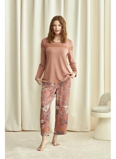 Catherines Pijama Takım Kiremit